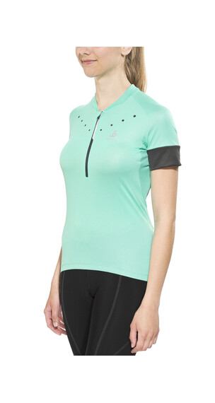 Odlo ISOLA Stand-up collar s/s 1/2 zip Women cockatoo